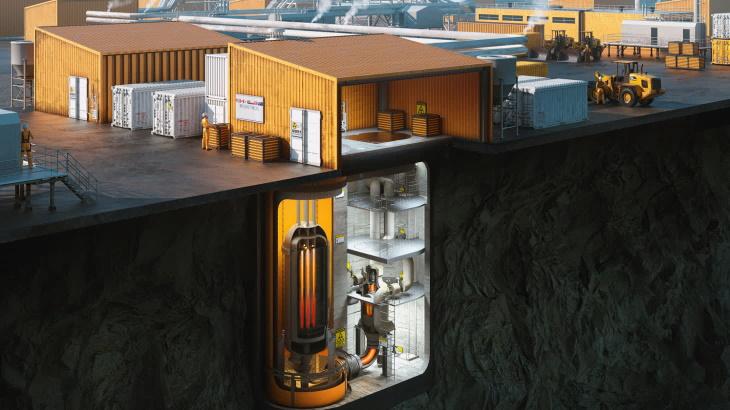 jaderná energie - Další mikroreaktor v Kanadě podal žádost o schválení - Inovativní reaktory (USNC reactor concept) 1
