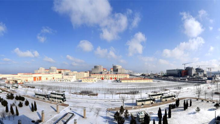 Jaderná elektrárna Chung-jen-che. (Zdroj: Dalian)