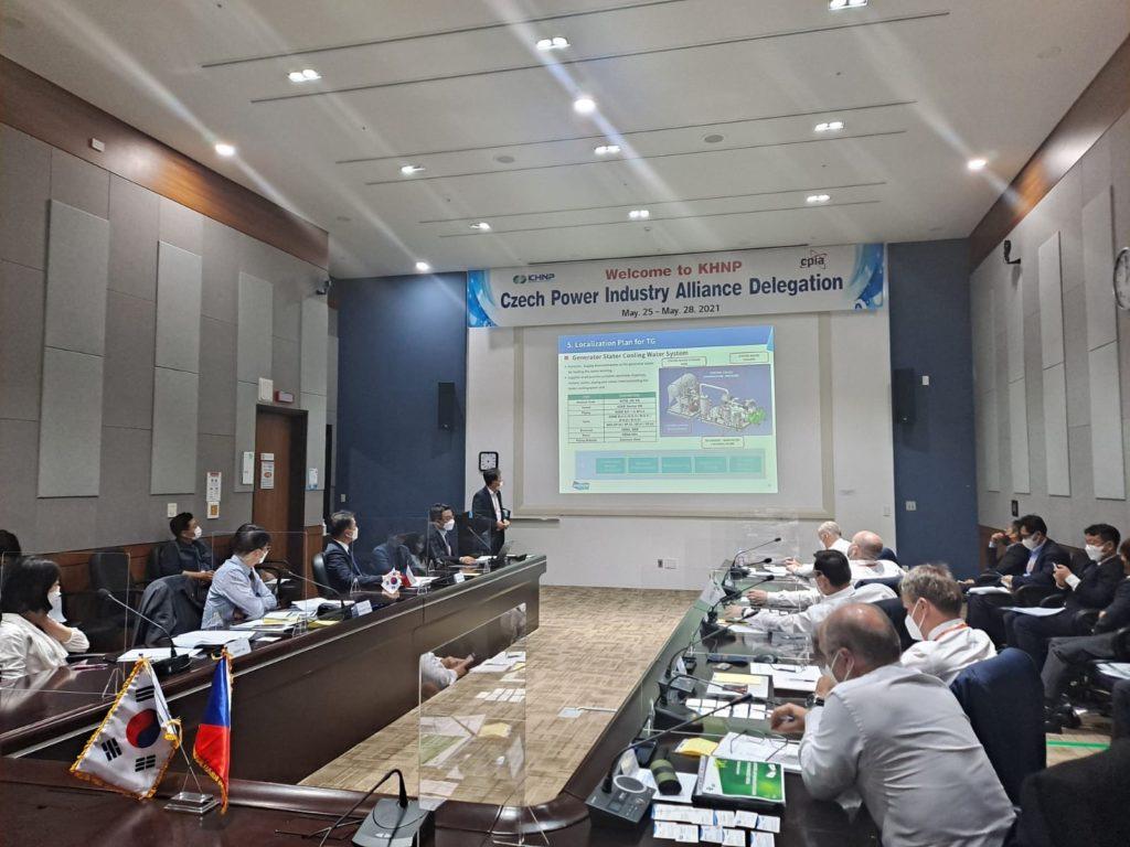 Jednání zástupců českého průmyslu v Jižní Koreji. (Zdroj: CPIA/ZAT)