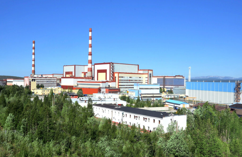 Kolská jaderná elektrárna se čtyřmi bloky VVER-440, kde Rosatom připravuje výrobu vodíku. (Zdroj: Rosatom)