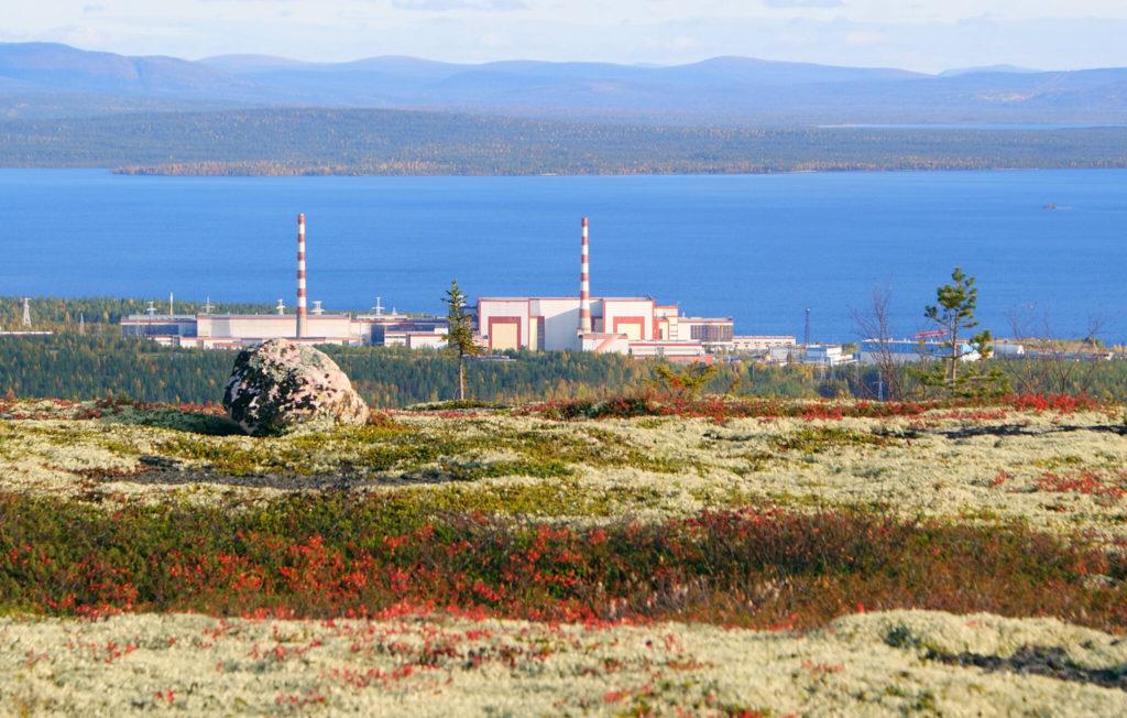 Čtyři bloky VVER-440 Kolské jaderné elektrárny provozované v arktických klimatických podmínkách. (Zdroj: Rosatom)
