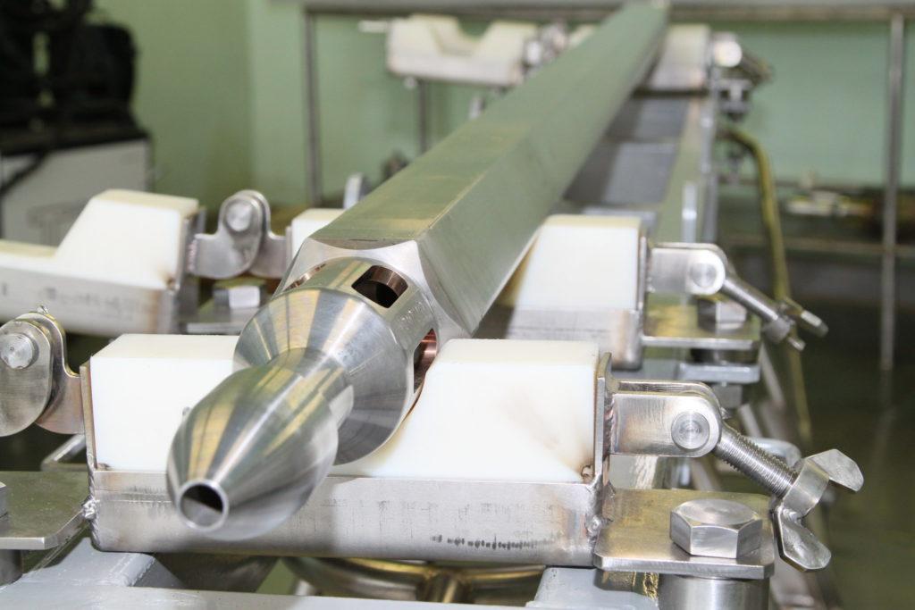 Nitridové palivo pro BREST-OD-300. (Zdroj: Rosatom)