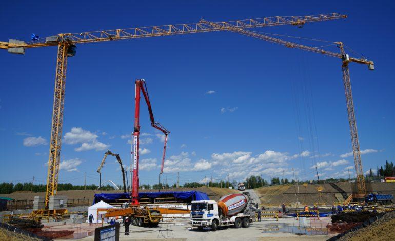 jaderná energie - Rosatom zahájil výstavbu unikátního bloku s rychlým reaktorem BREST-OD-300 - Inovativní reaktory (Staveniste bloku s reaktorem BREST OD 300) 2