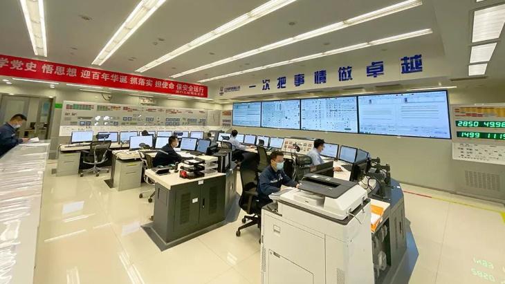 jaderná energie - Začal komerční provoz Tchien-wan 6 s ACPR-1000 - Nové bloky ve světě (Tianwan 6 control room CNNC 1) 1