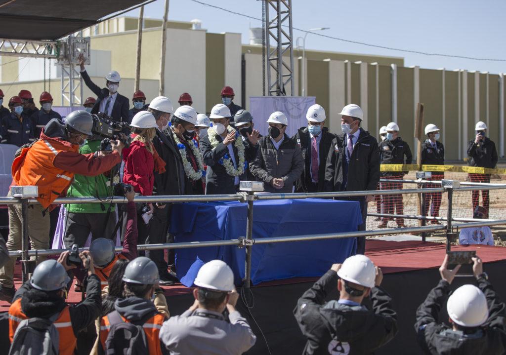 Zalití prvního betonu pro výzkumný reaktor, zdroj: Rosatom