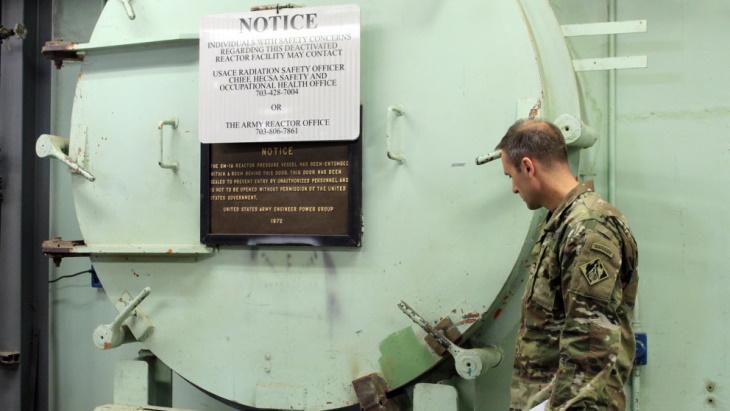 jaderná energie - Armáda USA dokončila plán na vyřazení historického reaktoru SM-1A - Back-end (Inside Ft Greely DVIDS) 2