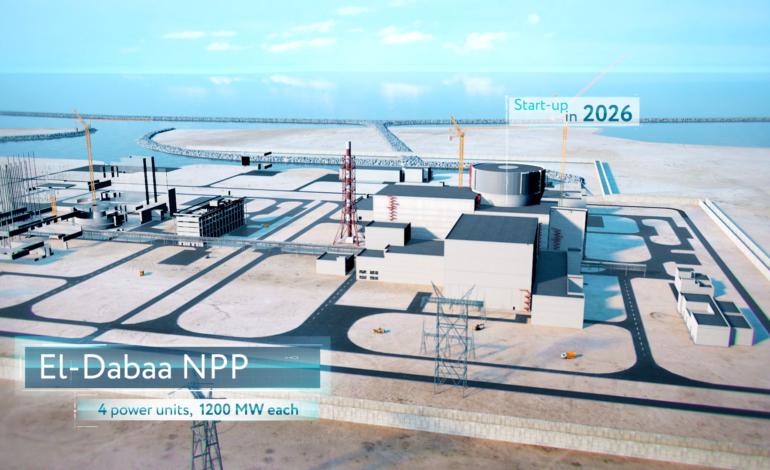 jaderná energie - Byla předána dokumentace pro stavební povolení pro JE El Dabaa - Nové bloky ve světě (Vizualizace jaderne elektrarny El Dabaa 3) 2