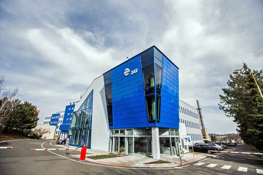 Budova společnosti ZAT v Příbrami. (Zdroj: ZAT)