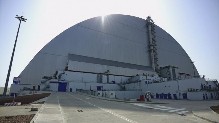 jaderná energie - Likvidace Černobylu dostala zelenou - Back-end (Chernobyl NSC Chernobyl NPP) 1