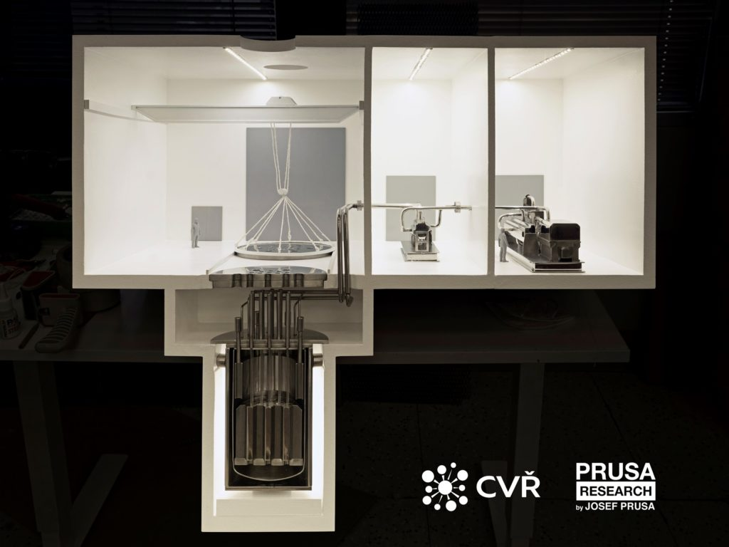 Vizualizace bloku  reaktorem Energy Well. (Zdroj: CVŘ)