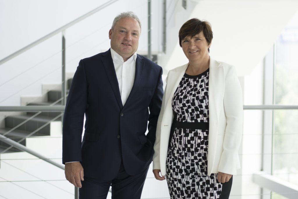 Ivo Tichý a Vladislava Česáková, členové představenstva ZAT. (Zdroj: ZAT)