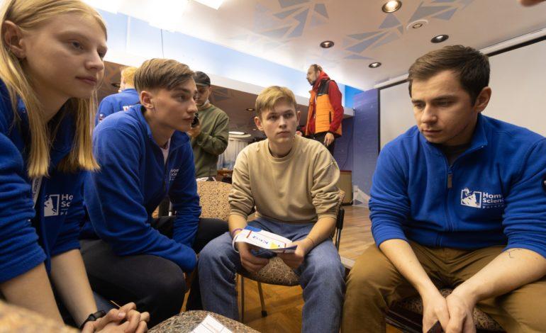 jaderná energie - Nadaní studenti se vydali s Rosatomem na severní pól - Jádro na moři (Ucastnici projektu Ledoborec znalosti 2560) 2
