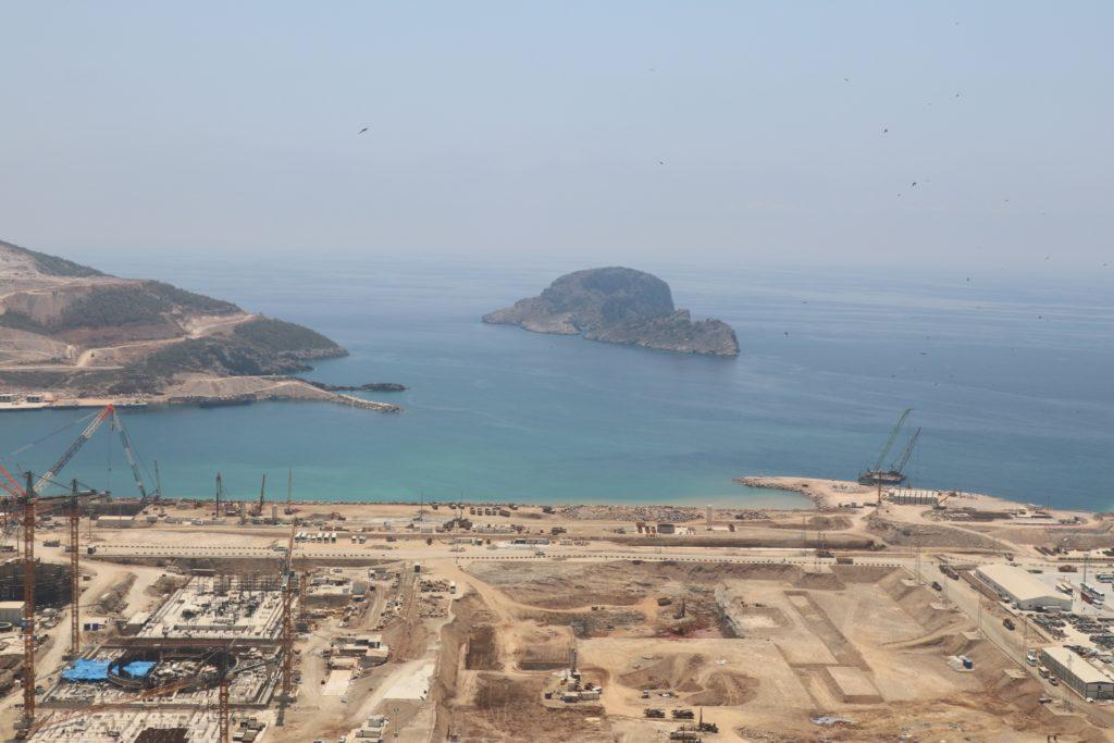 Základová jáma 4. bloku jaderné elektrárny Akkuyu v Turecku. (Zdroj: Rosatom)