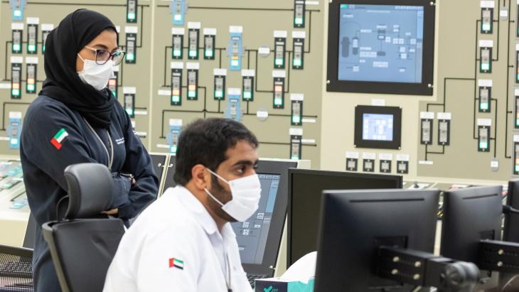 jaderná energie - Barakah 2 jde do provozu - Nové bloky ve světě (Barakah 2 startup control rm ENEC) 2