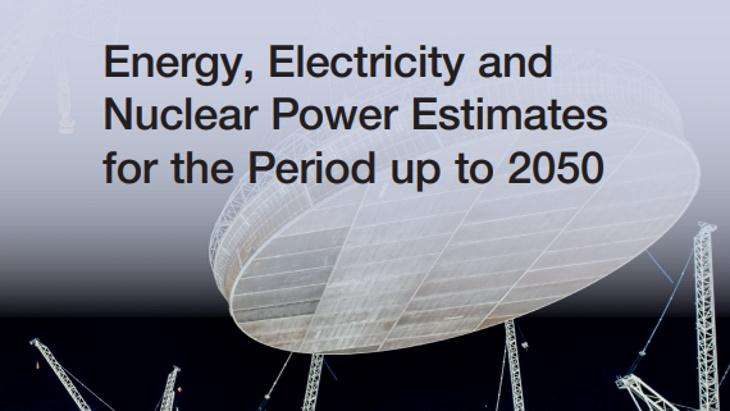 """jaderná energie - Zdvojnásobení jaderných kapacit do roku 2050 vyžaduje """"společně jednat"""", říká MAAE - Ve světě (Energy Electricity and Nuclear Power Estimates to 2050 IAEA 1) 1"""
