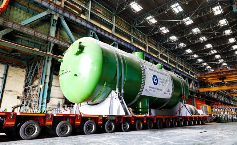 jaderná energie - Parogenerátory pro 2. blok JE Akkuyu jsou na cestě - Nové bloky ve světě (Expedice parogeneratoru pro druhy blok turecke jaderne elektrarny Akkuyu s reaktory VVER 1200) 2