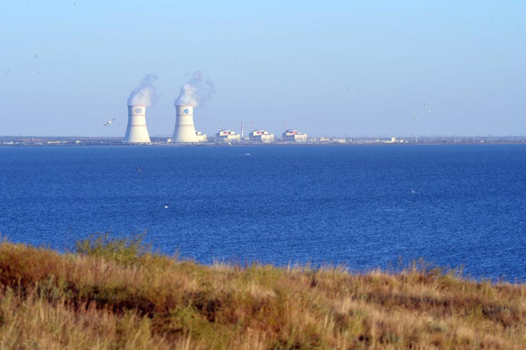 Rostovská jaderná elektrárna se čtyřmi bloky VVER-1000. (Zdroj: Rosatom)
