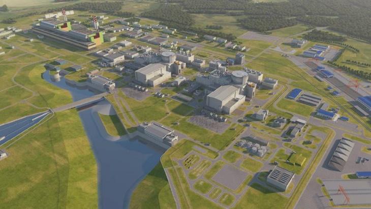 jaderná energie - Vydání stavebního povolení pro Paks II se odsouvá - Nové bloky ve světě (Paks II plant visualisation Paks II) 2