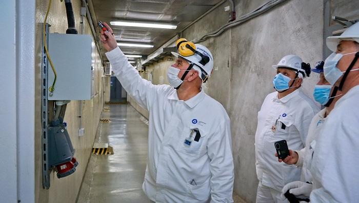 Partnerská mise WANO ve Smolenské jaderné elektrárně. (Zdroj: Rosatom)